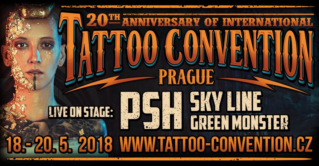 Prague Tattoo Convention 2018