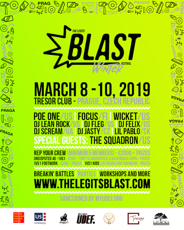 The Legits Blast Winter