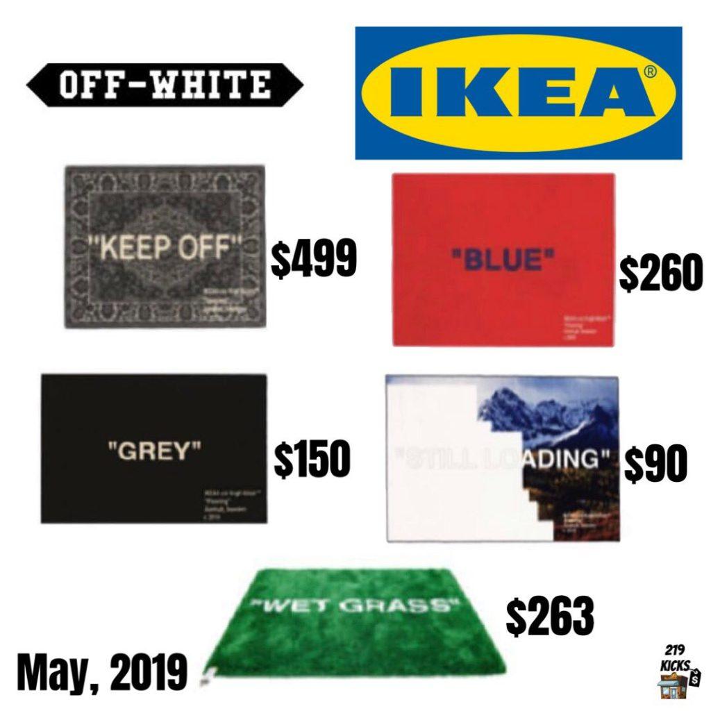 IKEA X OFF-WHITE