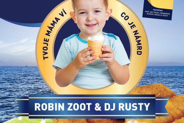 Robin Zoot a DJ Rusty - tvoje máma ví, co je námrd