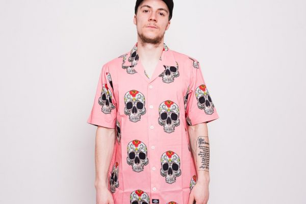 Košile Dickies Blossvale Flamingo