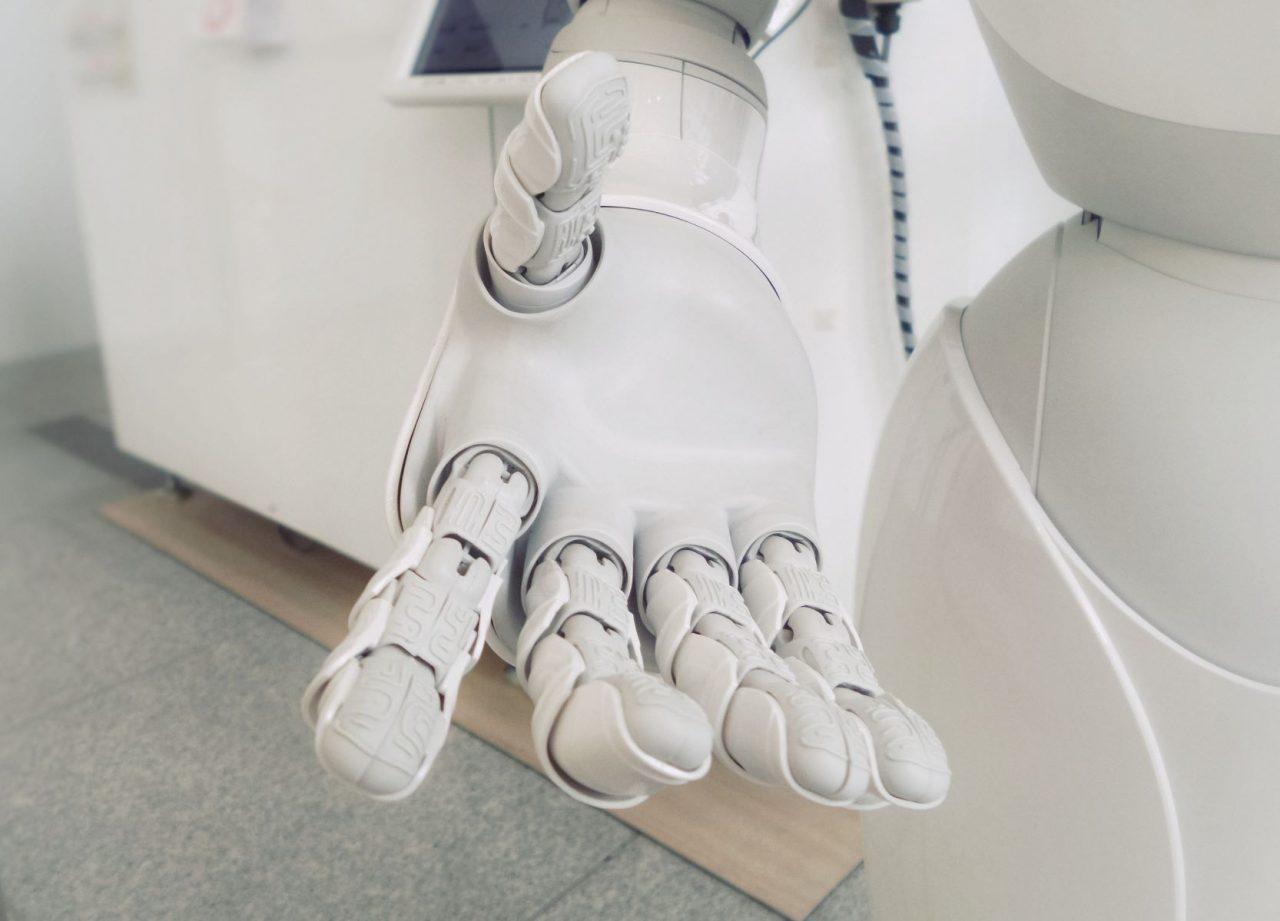 pomocná ruka robota