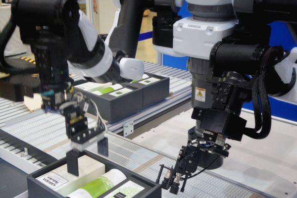 robotické stroje