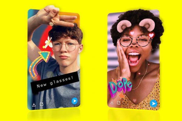 3D selfie na Snapchatu