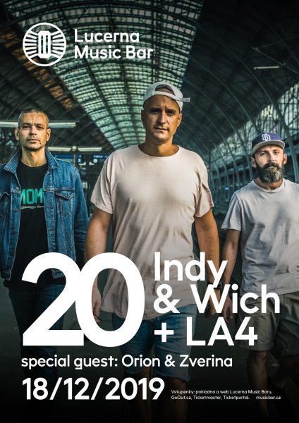 Indy & Wich + LA4 oslaví 20 let